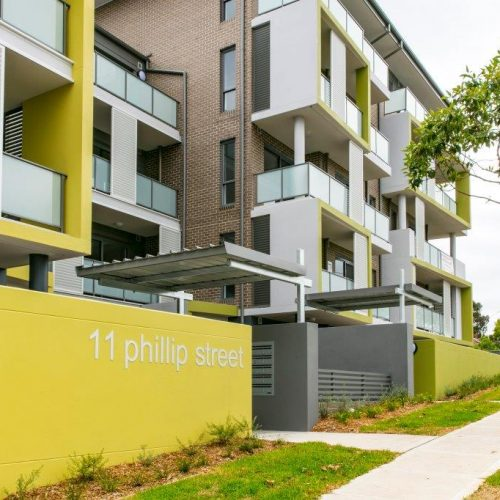 Community Housing – Phillip Street Apartments